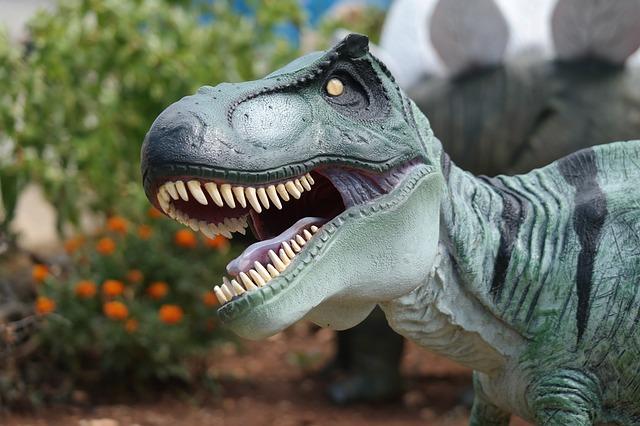 replika dinosaura