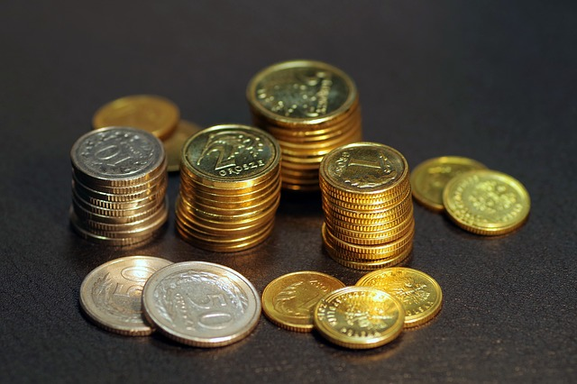 mince ve sloupečcích – groše