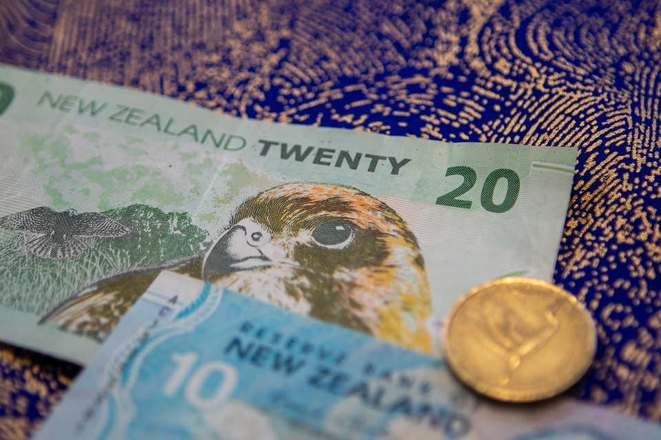 zélandské peníze